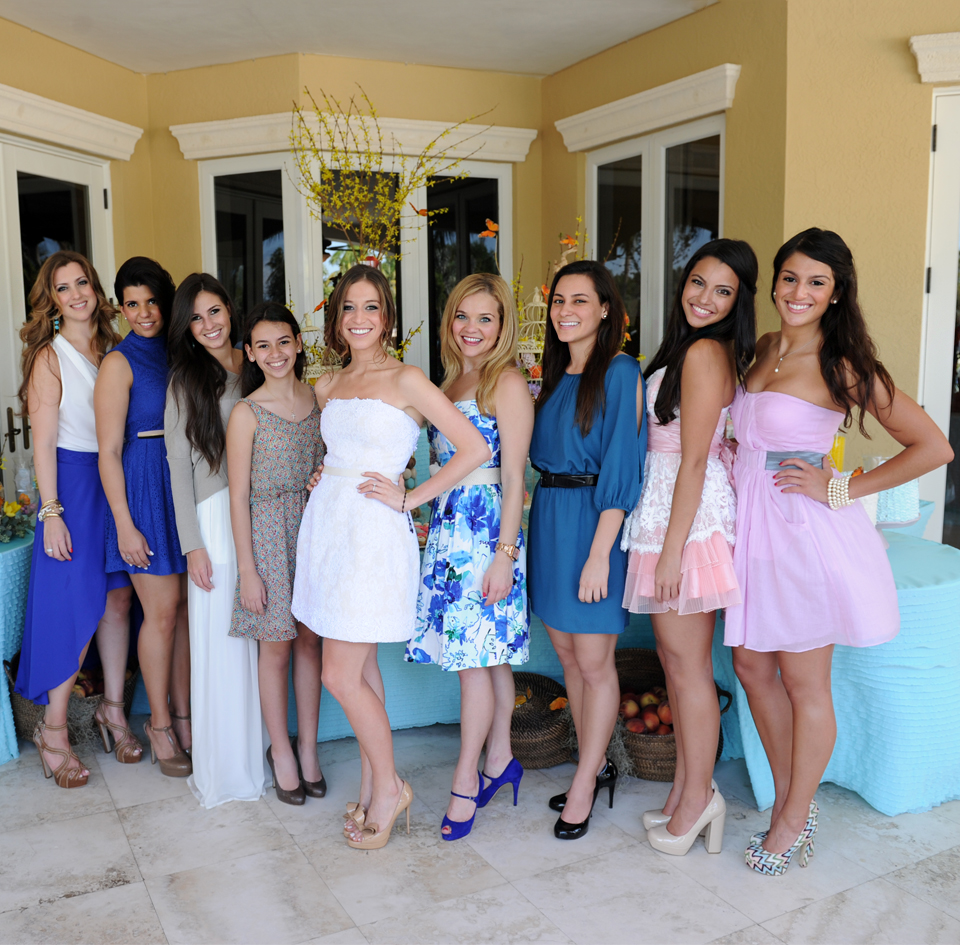 miami bridal shower
